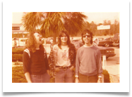 Clearwater Beach, FL 1979. Brent, Tere, Bart